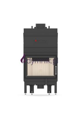 10,3 kW Standardowy Poziomy wkład kominkowy z płaszczem wodnym ALAQS 54 X 39 S