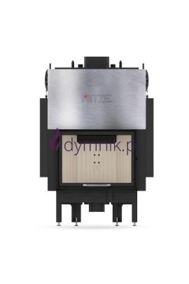 13,5 kW Gilotyna Poziomy wkład kominkowy z płaszczem wodnym ALAQS 59 x 43 G