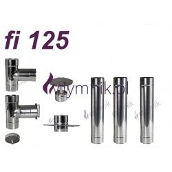 Wkład okrągły kwasoodporny fi 125
