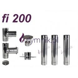Wkład okrągły kwasoodporny fi 200