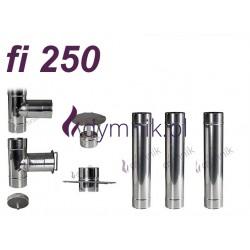 Wkład okrągły kwasoodporny fi 250