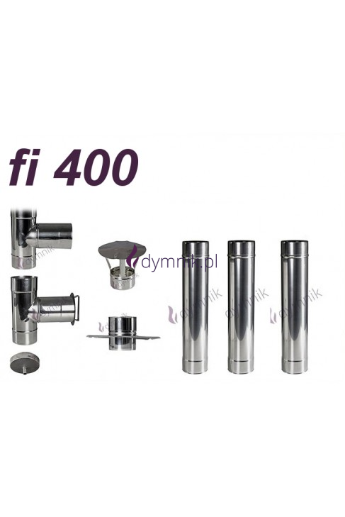 Wkład okrągły kwasoodporny fi 400