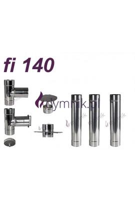 Wkład kominowy żaroodporny fi 140