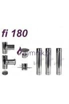 Wkład kominowy żaroodporny fi 180