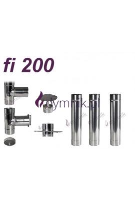 Wkład kominowy żaroodporny fi 200