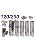 Wkład owalny żaroodporny 120/200