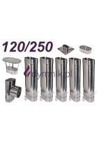 Wkład owalny żaroodporny 120/250