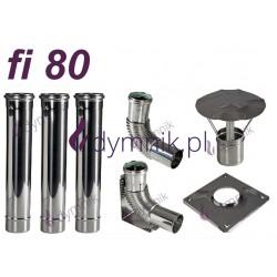 Wkład kondensacyjny Turbo jednościenny fi 80