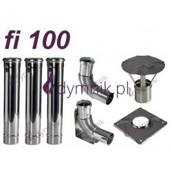 Wkład kondensacyjny Turbo jednościenny fi 100