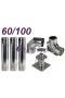 Wkład kondensacyjny Turbo dwuścienny 60/100