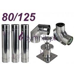 Wkład kondensacyjny Turbo dwuścienny 80/125