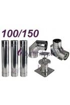 Wkład kondensacyjny Turbo dwuścienny 100/150