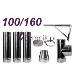 Komin izolowany kwasoodporny 100/160