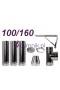 Wkład izolowany kwasoodporny 100/160