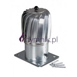 Nasada obrotowa podłużna aluminiowa z podstawą