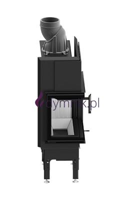 HST 5,9 kW Lewy Poziomy wkład kominkowy HST 54 X 39 L