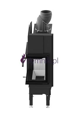 HST 5,9 kW Prawy Poziomy wkład kominkowy HST 54 X 39 R