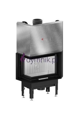 HST 11,2 kW Lewy Gilotyna Poziomy wkład kominkowy HST 54 X 39 LG