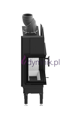 HST 7,6 kW Lewy Poziomy wkład kominkowy HST 59 X 43 L