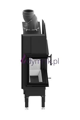 HST 9,3 kW Lewy Poziomy wkład kominkowy HST 68 X 43 L