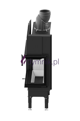 HST 9,3 kW Prawy Poziomy wkład kominkowy HST 68 X 43 R