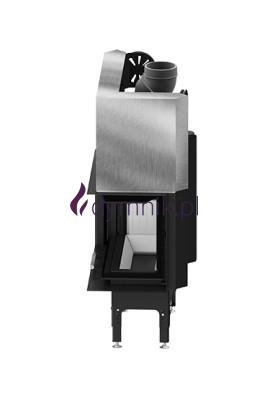 HST 13,2 kW Prawy Gilotyna Poziomy wkład kominkowy HST 68 X 43 RG