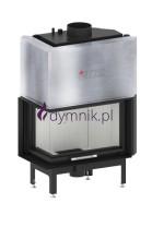 16 kW Lewy Gilotyna Poziomy wkład kominkowy z płaszczem wodnym ALAQS 68 x 43 LG