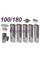 Wkład owalny kwasoodporny 100/180