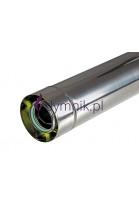 Rura Turbo 1000 mm kondensacyjna kwasoodporna