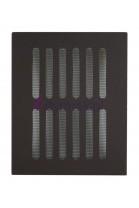 Kratka wentylacyjna z siatką (brązowa)